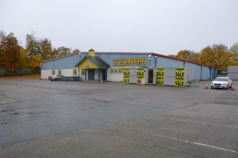 Former DIY Store